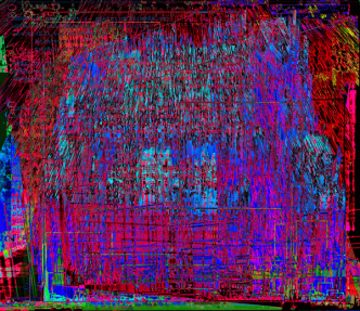 Data-Heatmap, Image by Eleanor Gates-Stuart in collaboration with David Lovell (CSIRO).
