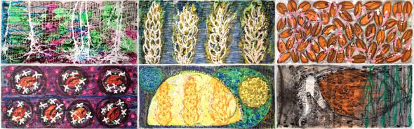 Six Sketches by Eleanor Gates-Stuart