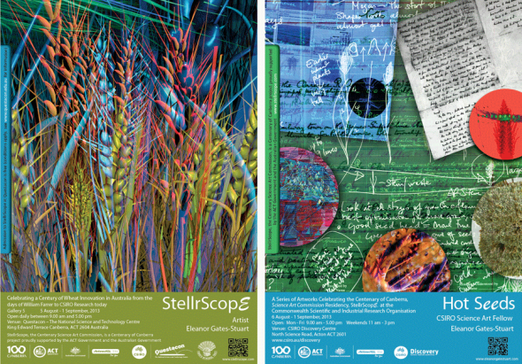 Posters: StellrScope & Hot Seeds