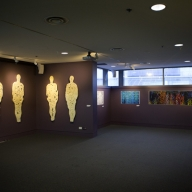 'Slices of Man' at 'Hot Seeds' Exhibition at CSIRO Discovery Centre