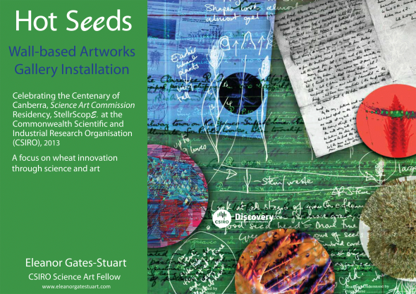 Hot Seeds Exhibition Catalogue - Eleanor Gates-Start