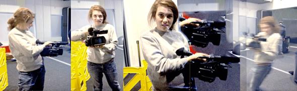 Film Maker: Emily Hungerford at StellrScope with Eleanor Gates-Stuart